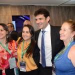 Marcelo Álvaro Antônio, ministro do Turismo entre agentes de viagens