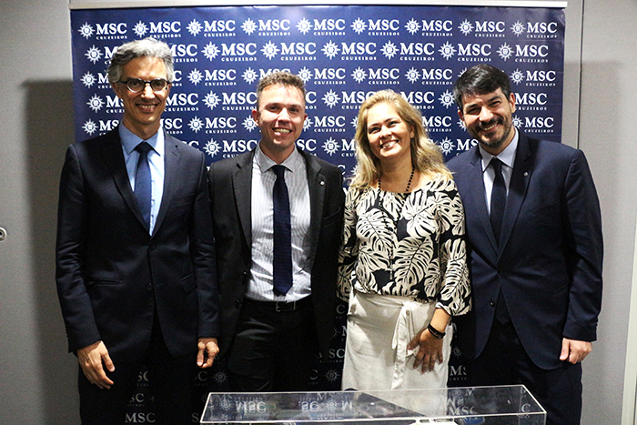 Marco Ferraz, Vítor Spirandeli, Jaqueline Messina, Ignacio Palacios
