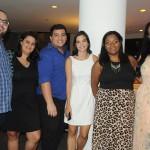 Marcos Amado, Tathiana Rocha, Alan Fernandes, Carolina Tiné, Polyanna Machado e Mayara Faria, da Tourmed