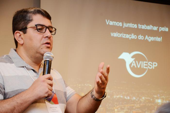 Marcos Luca, presidente da Aviesp