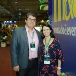 Marcos Lucas e Juliana Assumpção, da Aviesp