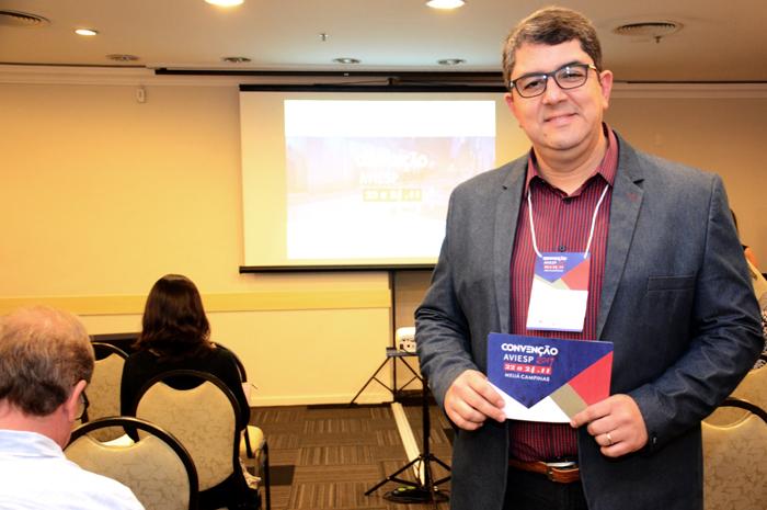 Marcos Lucas, presidente da Aviesp