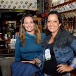 Mariângela Pinto, da Prefeitura de João Pessoa, e Gabrielle Nunes, do MTur