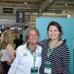 Mari Masgrau, do M&E, com Caroline Dias, do Turismo de Israel