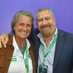 Mari Masgrau, do M&E; e José Leitão, da Global Destinations