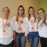 Marilberto França, Ana Paula Teixeira, Valéria Pereira e Graziella Piccolo, da Affinity