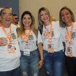 Marilberto França, Helen Valamedi e Valéria e Fabiana Pereira