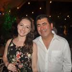 Marina Patriota, da MGM operadora, com Ruben Aguilera, da Terra Travel, da Argentina