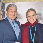 Mario Albuquerque, da Nobile, e Vanessa Mendonça, secretária de Turismo do Distrito Federal