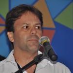 Mario Pilar, secrtário de Turismo de Porto de Galinhas, durante a abertura do Visit Pernambuco