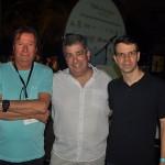 Massimo Pellitteri, Otaviano Maroja e Eduardo Tiburtius