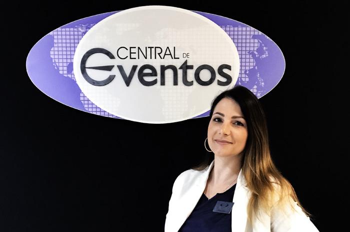 Milena Daniel é uma das promovidas da Central de Eventos, do Grupo Arbaitman