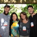 Monica Samia, CEO da Braztoa, Rennê Nunes Pereira, Wanessa Spiess e Gustavo Nogueira, da UPLAB