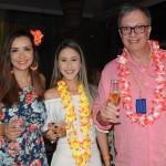 Natália Strucchi, Myllena Guimarães e José Carlos de Menezes