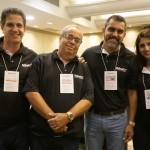 Nelson Moreira, Marcelo Moreira, Eduardo Torres e Daniela Araujo