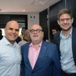 Nelson Oliveira, da Alitalia, Cassulino, da Ancoradouro, e Gonzalo Romero, da Air Europa