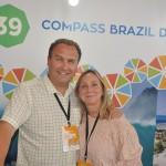Nuno Veríssimo e Tereza Grahn, da Compass Brazil