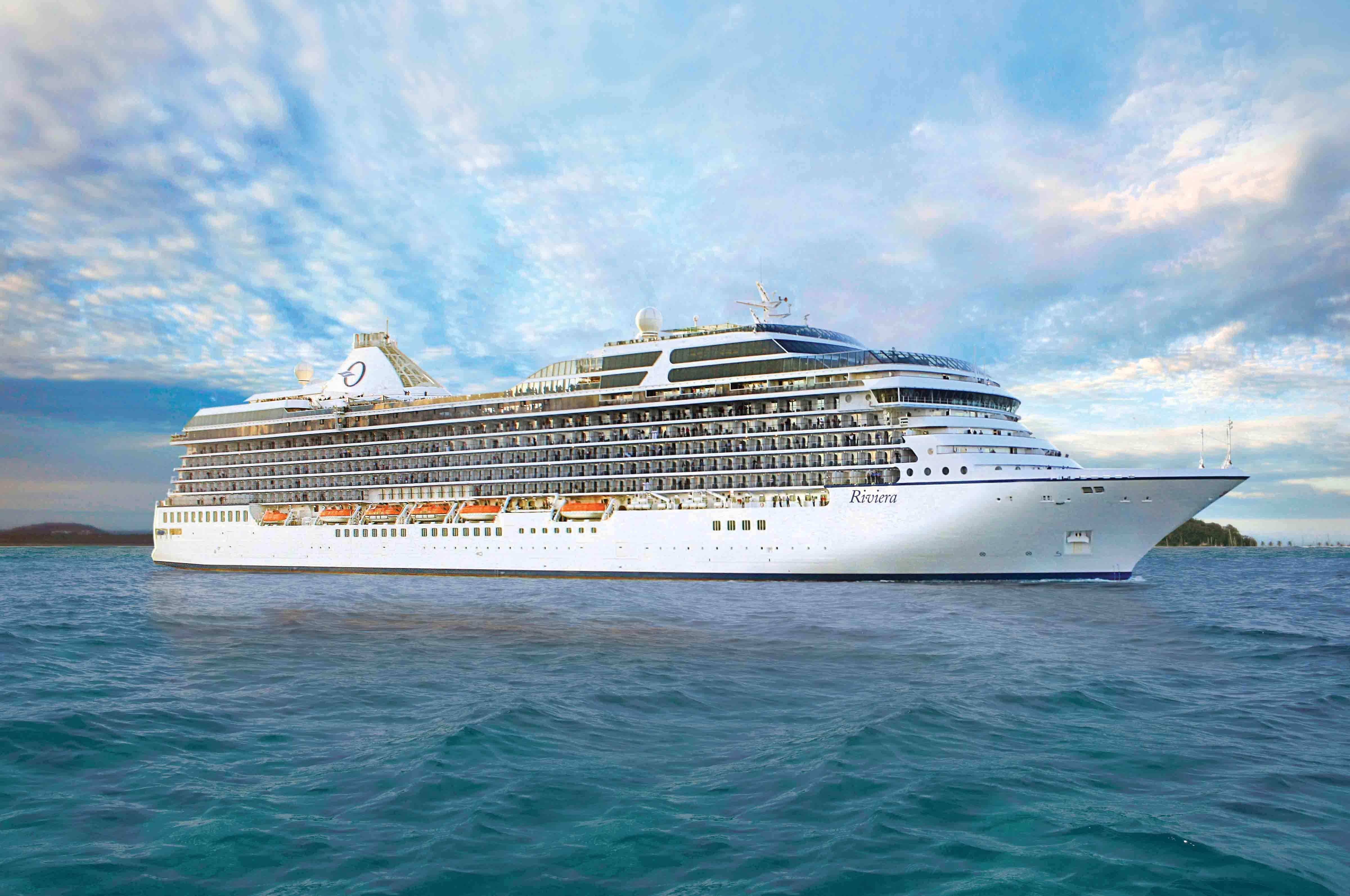 O Riviera é o primeiro da frota da Ocean Cruises a oferecer o Aquamar Spa + Vitality Center