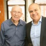Orlando Domingos e Fernando Bueno, do Grupo Ancoradouro