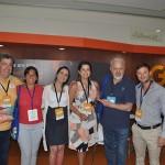 Otaviano Maroja, do Porto de Galinhas CVB, com Daniela Araújo e Jose Brouwer da Gol e buyers estrangeiros