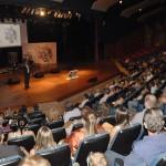 Público presente à cerimônia de premiação