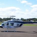 Passeio de helicóptero por Canela