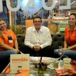 Patricia Santos, Juliano Soares, e Cleusa Konrad, Movida Premium
