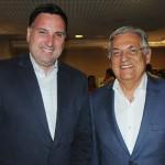 Pedro Guimarães, do Apresenta Rio, e Paulo Jobim, secretário municipal de Turismo do Rio