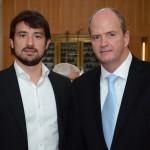 Pedro Nanni, da Elo, e Ralf Aasmann, da Air Tkt