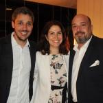 Philipe Campelo, do RioCVB, Luciana de Lamare, da Turisrio, e Michael Nagy, do Fairmont