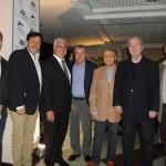 Phillipe Campelo, Sergio Ricardo, Alfredo Lopes, Luiz Strauss, Salvador Saladino, Nilo Sergio Felix e Michael Weber, do Turismo do Rio