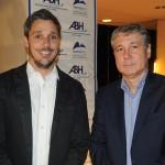 Phillipe Campelo, do RioCVB, e Luiz Strauss, da Abav-RJ