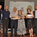 Premiados na categoria Academia, com Gabriel Sater, o governador Reinaldo Azambuja, e o presidente da Fundtur-MS, Bruno Wedling