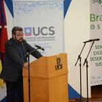 Presidente da Braztoa durante a abertura do SEEDS