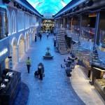 Promenade tem diversos bares e restaurantes