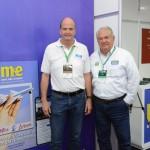 Ralf Aasmann, da AirTKT, e Roy Taylor, do M&E