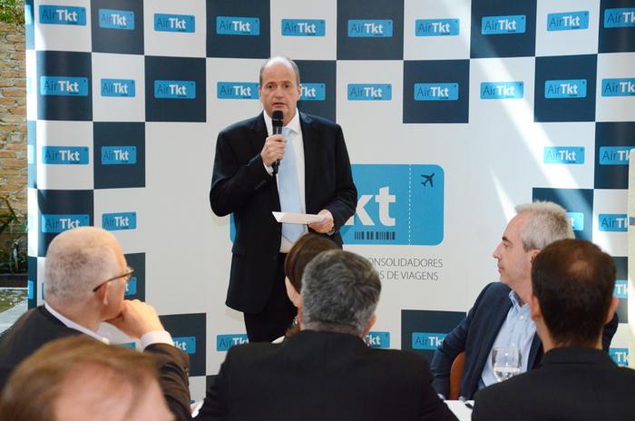 Ralf Aasmann, diretor executivo da AirTKT (Foto: Eric Ribeiro)