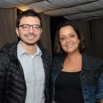 Raoni Biasucci, da Braztoa, e Gabrielle Nunes, coordenadora geral de Sustentabilidade e Turismo do MTur
