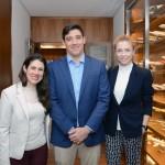 Raquel Gomes, Rodrigo Sienra e Taeli Tremarin, da Delta