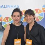 Regina Biondi e Erickson Silva, do Enotel Porto de Galinhas