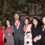Representantes da Latam, Avianca e Gol receberam uma medalha concedida pelo destino peruano