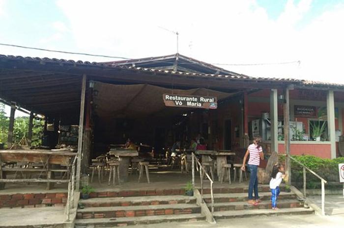 Restaurante Rural Vó Maria, em Chã de Jardim