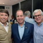 Ricardo Amaral, da R11, Dilson Verçosa Jr., da AA, e Juarez Cintra Filho, do Grupo Ancoradouro