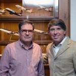 Ricardo Canto, com Ricardo Amaral, da R11