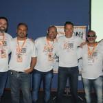Ricardo Melo, Édson Lelis, Ivson Rodrigues, Nilton Silva, Rogério Gomes e Belmar Guedes