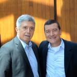 Ricardo Paci, da Tyller, e Ivan Blanco, da Aerolineas Argentinas