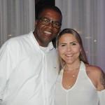 Rildo Amaral e Liane Abreu, do Grupo Aguia