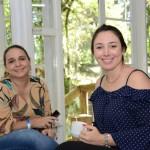 Roberta Tanus, da Braztoa, e Camila Pavanati, da secretaria de Turismo de Canela-RS