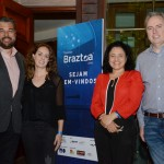 Roberto Nedelciu, Marina Figueiredo, Monica Samia e Frederico Levy, da Braztoa