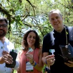 Roberto Nedelciu, Marina Figueiredo e Frederico Levy, da Braztoa